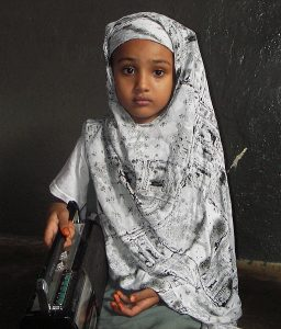 A young Somali refugee. Courtesy of USAID (USAID) [Public domain], via Wikimedia Commons.
