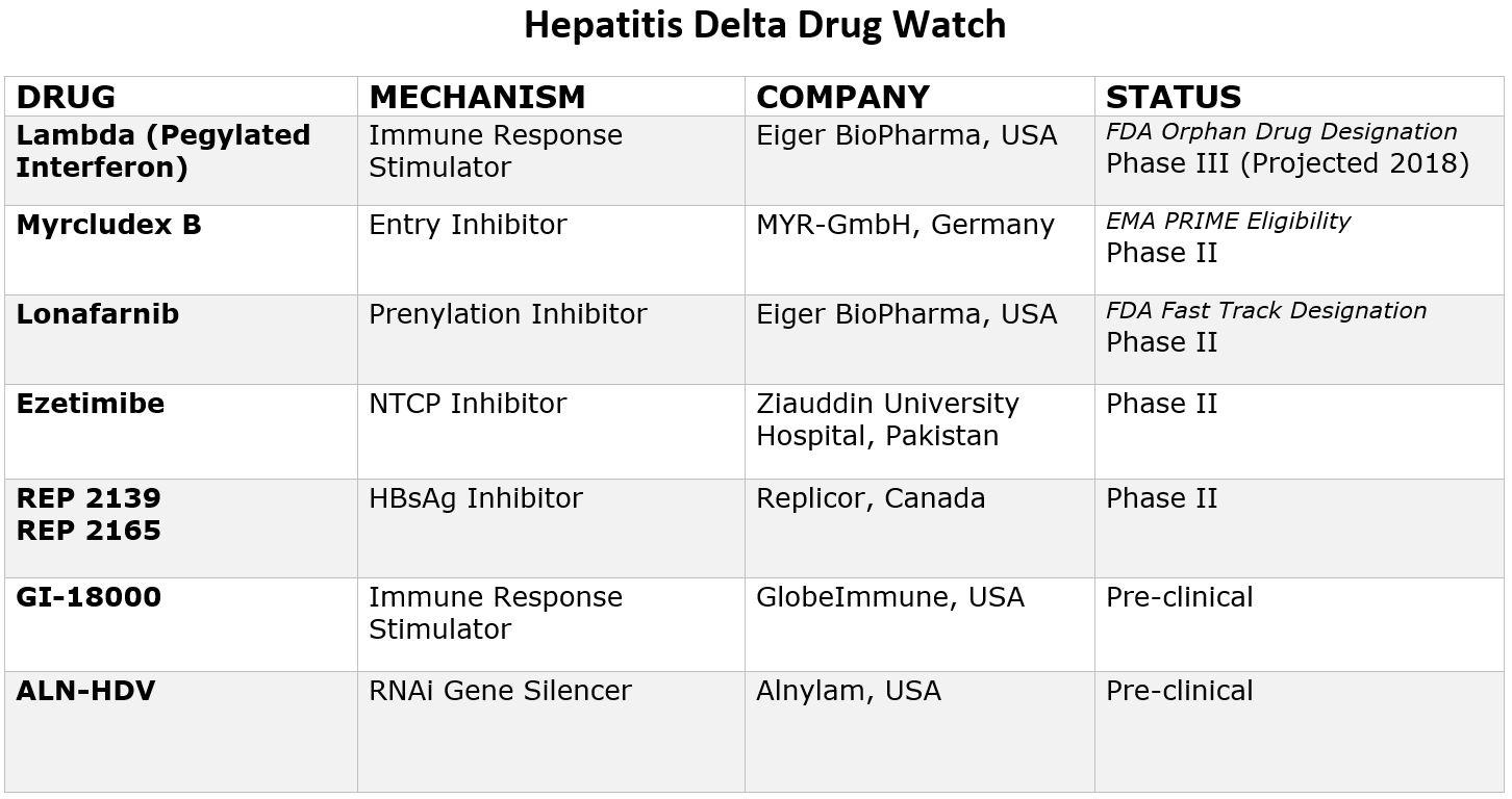 Hepatitis D and ways to treat it