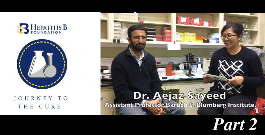 77345ec35 Journey to the Cure  What Does Liver Cancer Research Look Like  ft. Aejaz  Sayeed