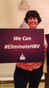Maureen Kamischke, Hepatitis B Foundation's social media and outreach manager.